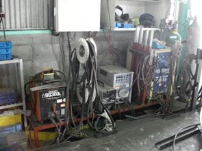 プレス半自動溶接機・TIG溶接機機